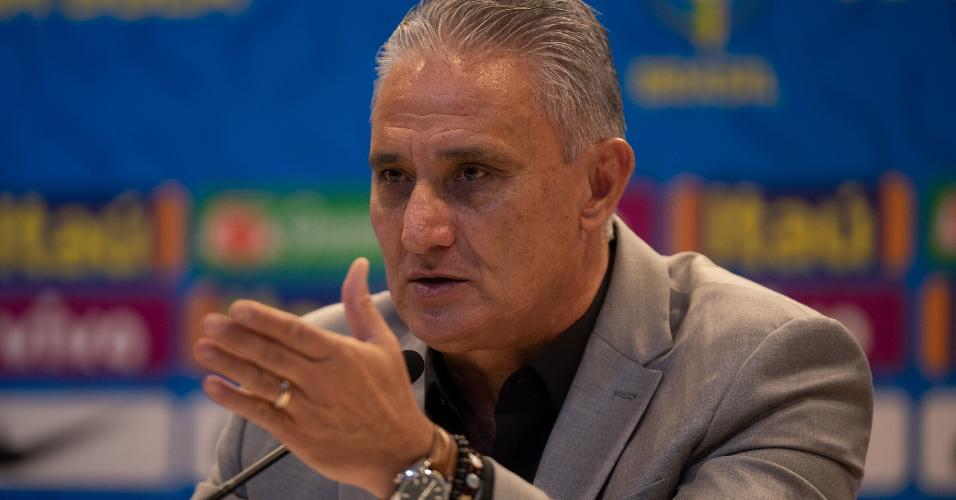 Tite convoca seleção brasileira para os amistosos de outubro