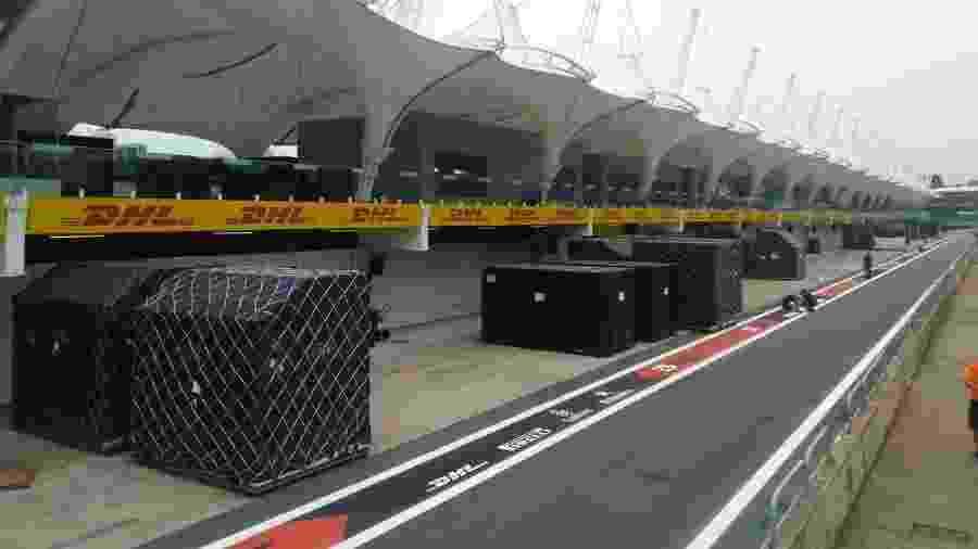 Longe dos paddocks vazios, F1 dá sua contribuição em meio a luta contra a Covid-19 - Demetrio Vecchioli/UOL