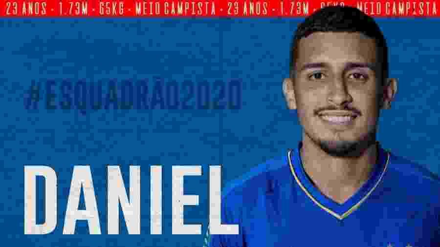 Bahia já começou a agitar o Mercado da Bola e anunciou o meia Daniel - Divulgação