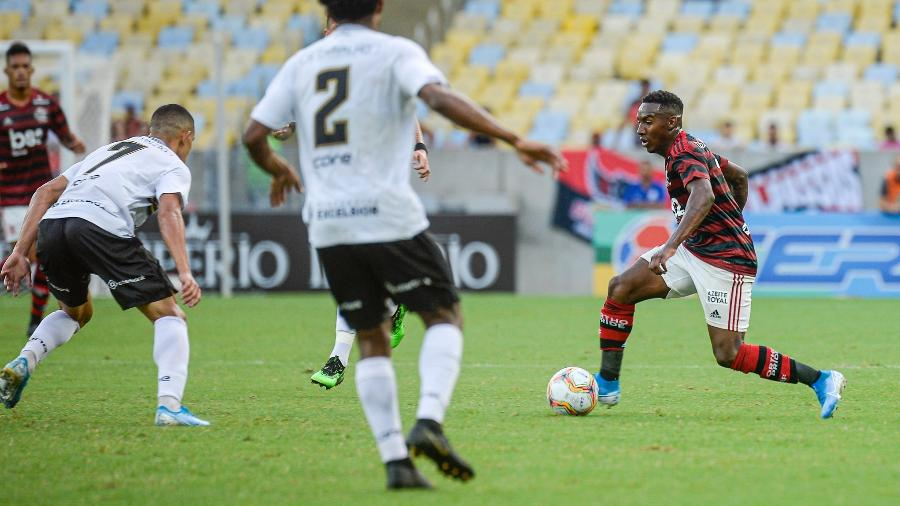 Flamengo e Volta Redonda se enfrentaram no Maracanã na Taça Guanabara, primeiro turno do Carioca - Marcelo Cortes / Flamengo