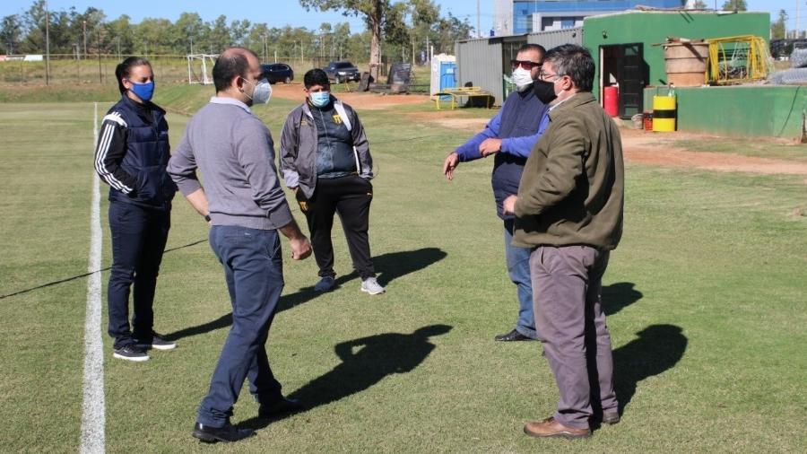 Clubes têm passado por inspeções sanitárias da Associação Paraguaia de Futebol - APF/Divulgação