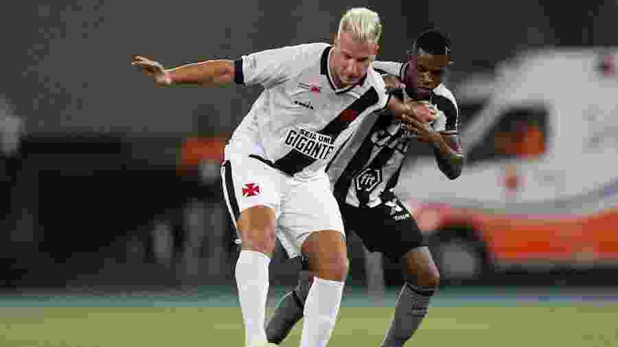 Marcelo acusou Maxi López de racismo em clássico entre Botafogo e Vasco em 2019, pelo Carioca - VITOR SILVA/SSPRESS/BOTAFOGO