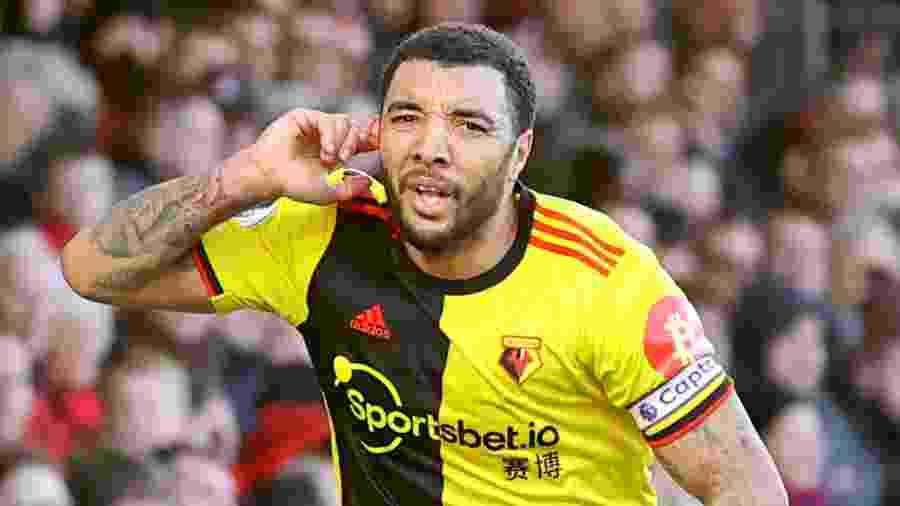 Troy Deeney é capitão do Watford, time da primeira divisão do Campeonato Inglês - Getty Images