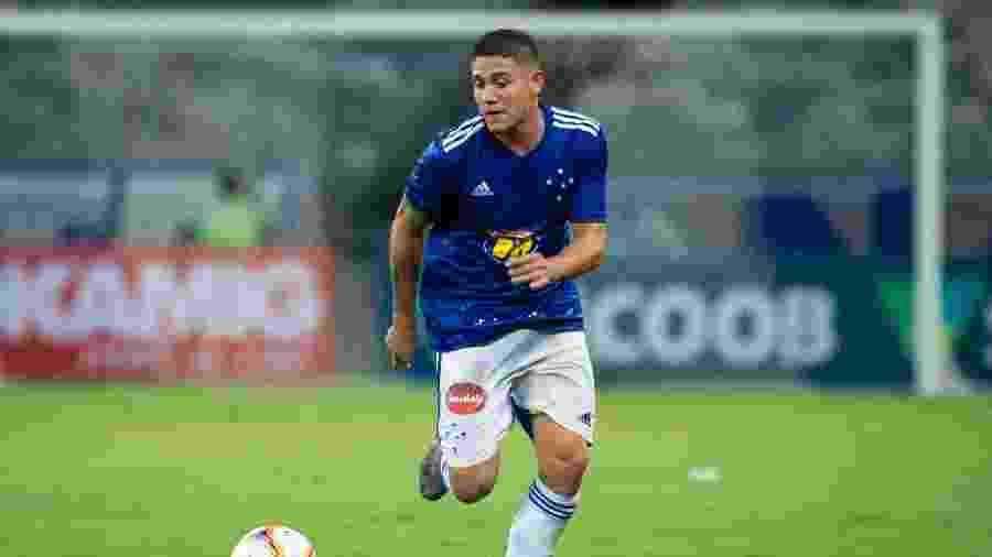 Caio Rosa, atacante do Cruzeiro, é um nome que agrada ao Palmeiras no mercado da bola - Bruno Haddad/Cruzeiro