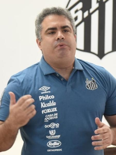 Orlando Rollo, ex-presidente do Santos - Ivan Storti/Santos FC