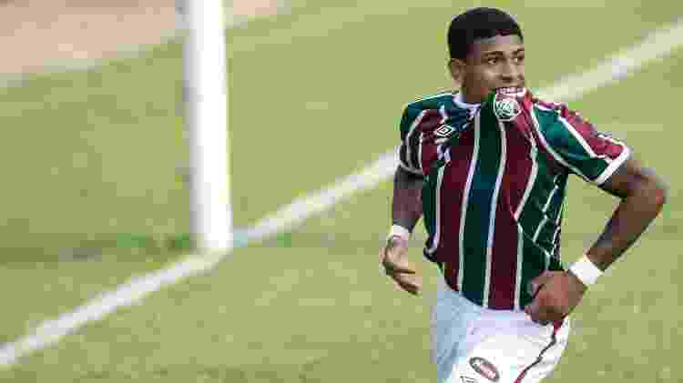 Artilheiro na base do Fluminense, John Kennedy se destacou por gols contra o Flamengo - Mailson Santana/Fluminense FC - Mailson Santana/Fluminense FC