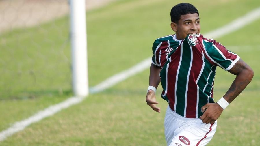 John Kennedy é destaque da base do Fluminense e deve ser alçado aos profissionais em 2021 - Mailson Santana/Fluminense FC