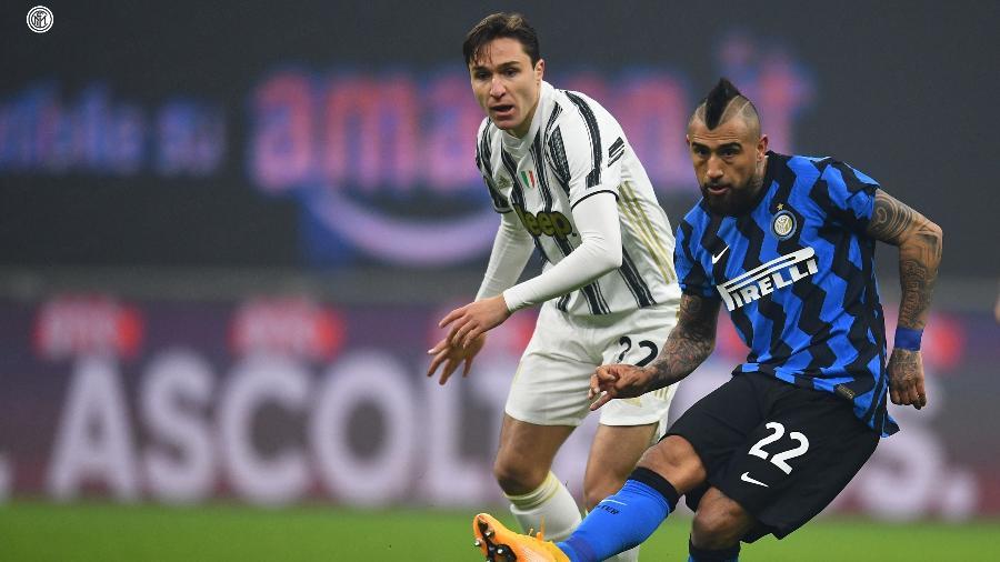 Inter de Milão vence Juventus e dorme na liderança do Italiano - Reprodução/Twitter