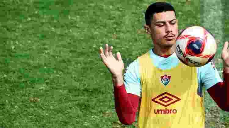 André é considerado uma joia no Fluminense, mas perdeu espaço com reforços para Libertadores - Mailson Santana/Fluminense FC - Mailson Santana/Fluminense FC