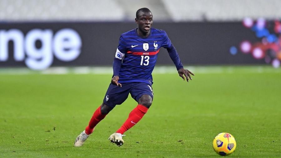 Kanté é uma das estrelas da Euro e pode ser eleito melhor do mundo - Getty Images