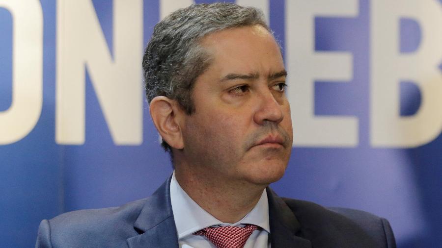 Rogério Caboclo está afastado da presidência da CBF há três semanas, por denúncia de assédio moral e sexual - Jorge Adorno/File Photo/Reuters
