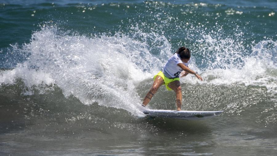 Silvana Lima caiu nas quartas de final no surfe feminino nas Olimpíadas de Tóquio - Olivier MORIN / AFP