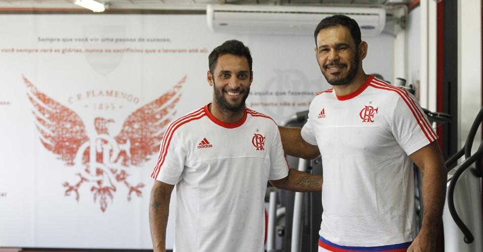 Ibson e Minotouro procuraram o CEP FLA em busca de um melhor desempenho esportivo