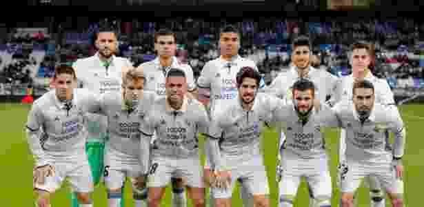 Jogadores do Real Madrid fazem homenagem à Chapecoense - ÁNGEL MARTÍNEZ/Real Madrid - ÁNGEL MARTÍNEZ/Real Madrid