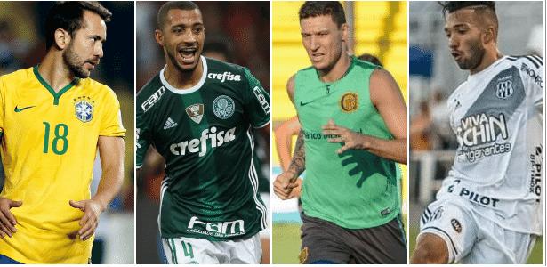 Mercado da Bola segue agitado na véspera do Campeonato Brasileiro Imagem   Montagem UOL a993bf0dabe54