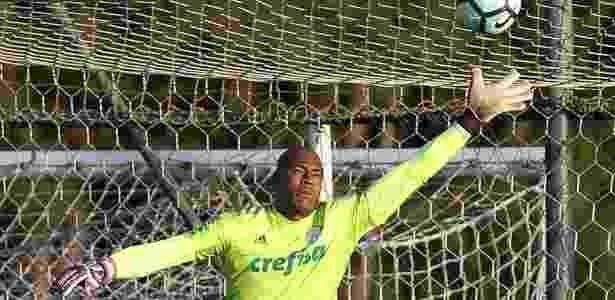 Prass trabalhou como reserva na terça-feira e deve perder o lugar para Jailson - Agência Palmeiras