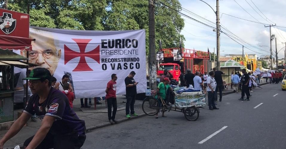 Três candidatos participarão do pleito: Eurico Miranda, Julio Brant e Fernando Horta