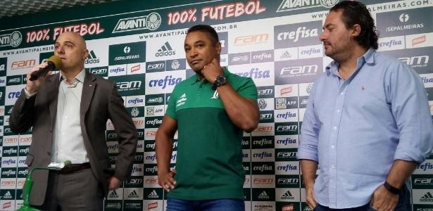 Roger Machado será o treinador do Palmeiras em 2018