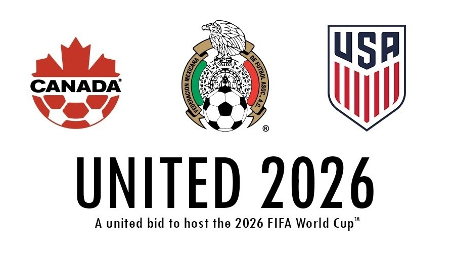 EUA, Canadá e México lançam candidatura unificada para a Copa do Mundo de 2026 - Divulgação