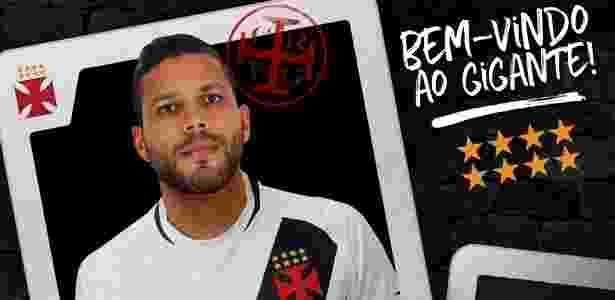 Vasco anuncia contratação do zagueiro Oswaldo Henriquez - Divulgação/Vasco