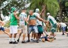 Torcidas de Palmeiras e Ponte Preta brigam antes de jogo contra o Red Bull - MAYCON SOLDAN/FOTOARENA/FOTOARENA/ESTADÃO CONTEÚDO