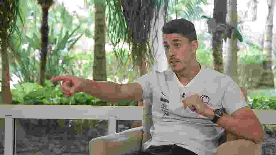 Danilo Avelar ressaltou que os desafios durante a quarentena também fazem parte da rotina de um atleta - Reprodução/TV UOL