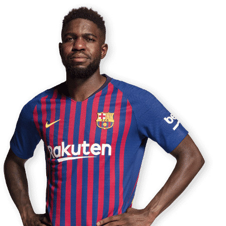Umtiti, defensor do Barcelona - Divulgação/Site oficial do Barcelona