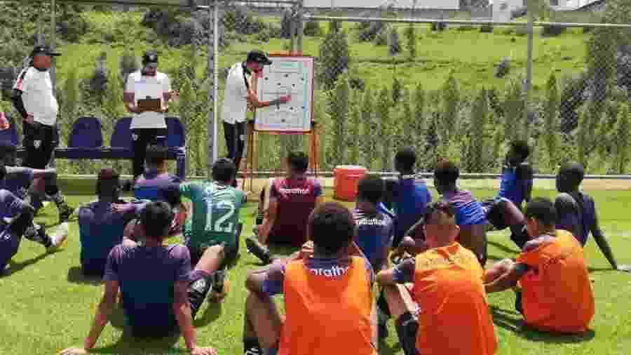 Independiente Del Valle: jogadores da base frequentam escola no clube e atuam com a mesma proposta do time profissional - Divulgação