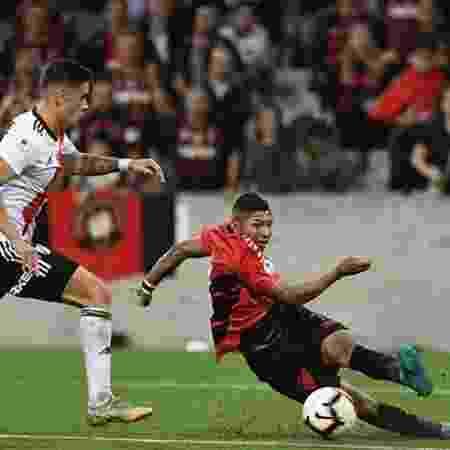 Rony dá assistência contra o River Plate: ponta é conhecido pelo estilo aguerrido - Divulgação