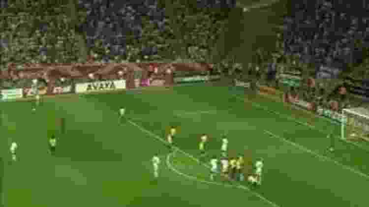 Roberto Carlos, na Copa do Mundo-2006 - Reprodução/SporTV - Reprodução/SporTV