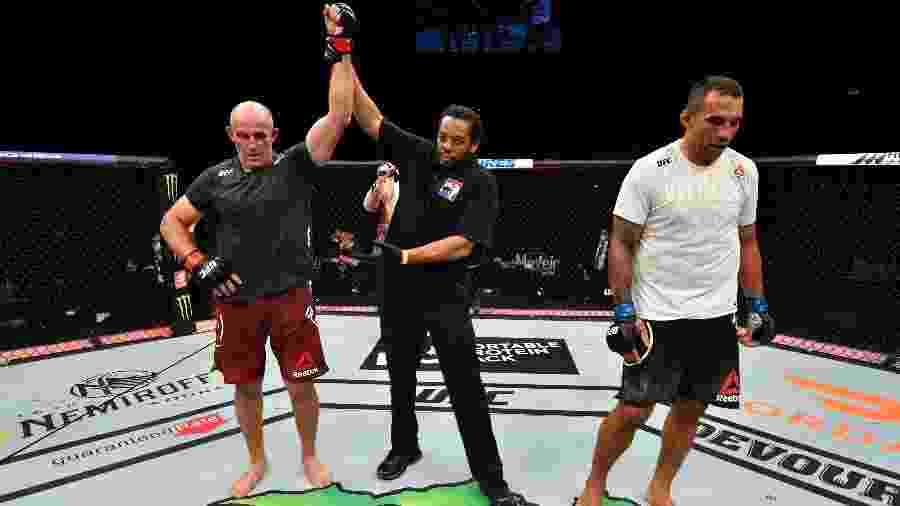 Fabrício Werdum perdeu para Aleksei Oleinik no UFC 249 - Jeff Bottari/Zuffa LLC/Getty Images