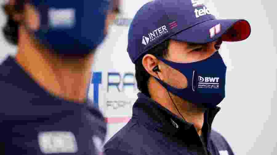 Sergio Perez, da Racing Point - Force India/Divulgação