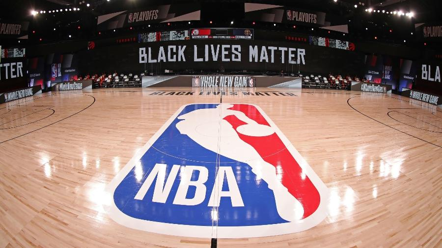 Quadra da NBA na bolha em Orlando - Nathaniel S. Butler/NBAE via Getty Images
