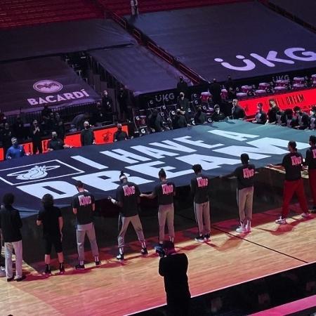 NBA tem homenagens ao Martin Luther King Day - Reprodução