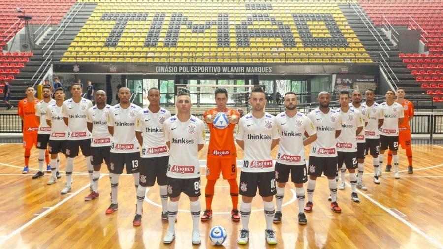 Time do Corinthians no Futsal vai disputar a Copa Libertadores de Futsal - Divulgação