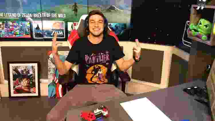 Octávio Neto é streamer além de narrador do TNT Sports - Reprodução - Reprodução