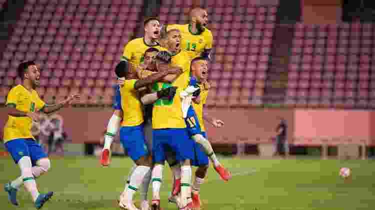 futebol resumão - Lucas Figueiredo/CBF - Lucas Figueiredo/CBF