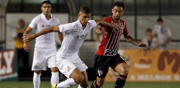 Santos e São Paulo se enfrentarão no próximo domingo - Ernesto Rodrigues/Folhapress