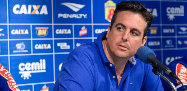 Bruno Vicintin foi vice-presidente de futebol do Cruzeiro entre setembro de 2015 e outubro de 2017