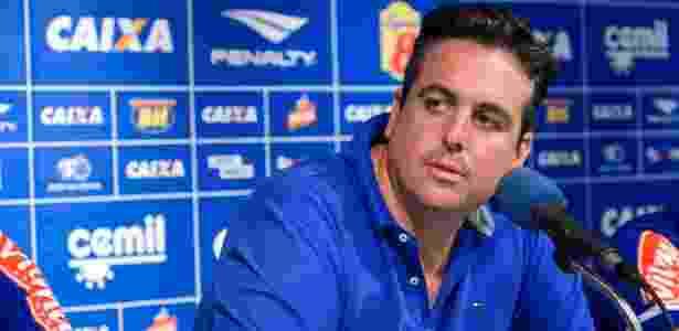 Bruno Vicintin, vice-presidente de futebol do Cruzeiro, fala sobre relacionamento com a FMF - Washington Alves/Light Press/Cruzeiro