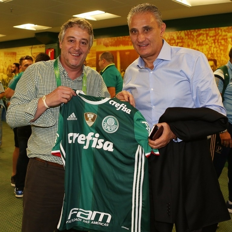 Tite Paulo Nobre camisa do Palmeiras