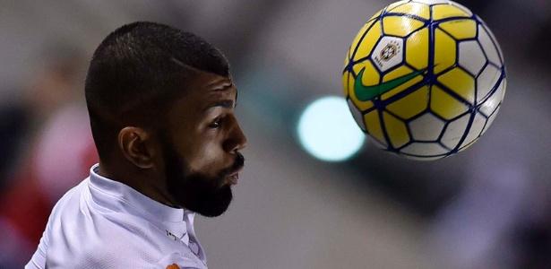 Atacante Gabigol jogará por empréstimo no Santos até o final desta temporada