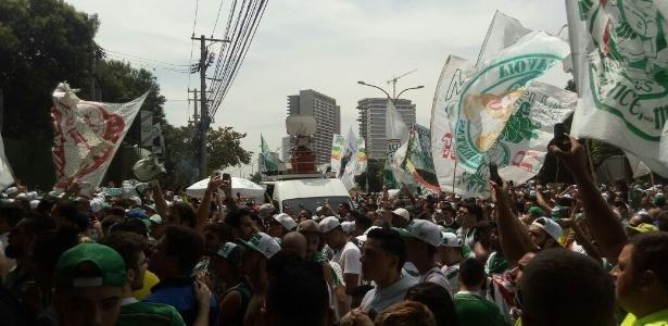 Palmeiras já se planeja para o título brasileiro; basta apenas um empate contra a Chapecoense - José Edgar de Matos