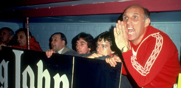 Ronnie Moran foi jogador e treinador do Liverpool