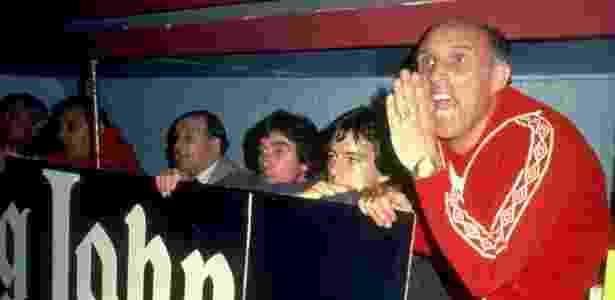 Ronnie Moran foi jogador e treinador do Liverpool - Allsport UK /Allsport