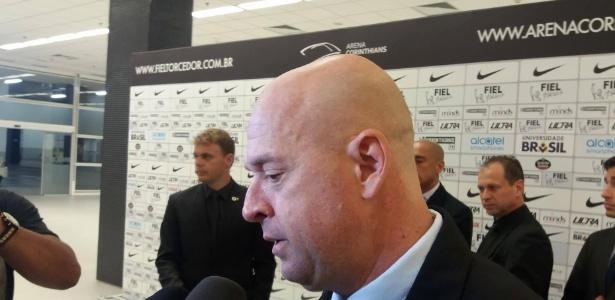 Heber concedeu entrevista após o empate entre Corinthians e Grêmio - Diego Salgado/UOL