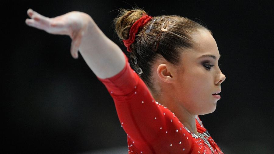 """""""Ele disse que ninguém entenderia isso e o sacrifício que é preciso para chegar às Olimpíadas, disse """"McKayla Maroney - John Thys/AFP"""