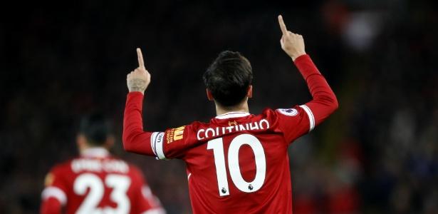 Torcedores que compraram camisa 10 de Coutinho serão ressarcidos pelo Liverpool