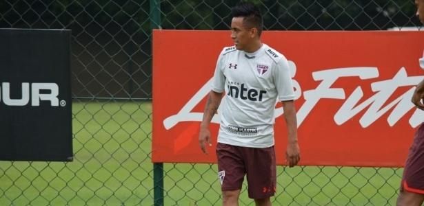 Cueva discordou do posicionamento do São Paulo sobre estar descomprometido
