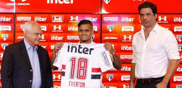 Everton, apresentado pelo São Paulo, foi propulsor de nova postura do São Paulo